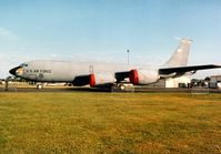 59-1495 @ MHZ - KC-135R Stratotanker of 173rd Air Refuelling Squadron Nebraska Air National Guard on display at the 1996 Mildenhall Air Fete. - by Peter Nicholson