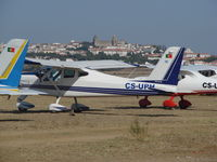 CS-UPH @ LPEV - Tecnam p92 Echo sport at EVORA during Portugal air show 09 - by ze_mikex