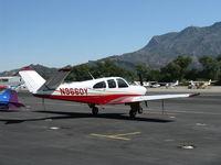 N9660Y @ SZP - 1962 Beech P35 BONANZA, Continental IO-470-N 260 Hp - by Doug Robertson