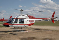 C-GGOZ @ CYZH - Delta Helicopters Bell 206 - by Andy Graf-VAP