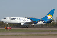 C-GKCP @ CYEG - Canadian North 737-200 - by Andy Graf-VAP
