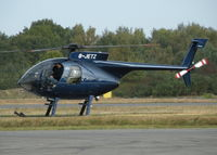 G-JETZ @ EGLK - VISITING HUGHES 500 - by BIKE PILOT