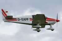 D-EAPF @ EGHL - Landing at Lasham. - by MikeP