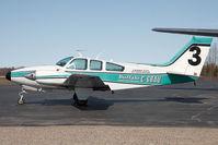 C-GBAU @ CYHY - Buffalo Airways Beech 55 - by Andy Graf-VAP