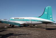 C-GPSH @ CYHY - Buffalo Airways DC4 - by Andy Graf-VAP