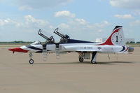 N385AF @ AFW - At Alliance Fort Worth - This airplane belongs to Ross Perot Jr.