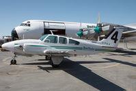 C-FULX @ CYZF - Buffalo Airways Beech 95 - by Andy Graf-VAP