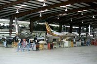 N1014V @ SAT - Merlin IIIB seen at the Swearingen production facility at San Antonio in October 1979. - by Peter Nicholson