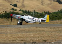 N151SE @ VCB - 1944 North American/aero Classics P-51D rolling out @ Gathering of Mustangs event - by Steve Nation