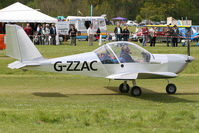 G-ZZAC @ EGHP - Pictured during the 2009 Microlight Trade Fair. - by MikeP