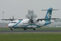 I-ADLQ @ LNZ - Air Dolomiti ATR 42