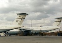 68-0217 @ SKF - C-5A Galaxy of 436th Military Airlift Wing seen at Kelly AFB in October 1979. - by Peter Nicholson