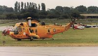 XZ596 @ EGVA - WESTLAND SEA KING HAR.3 - Royal Air Force - by Noel Kearney
