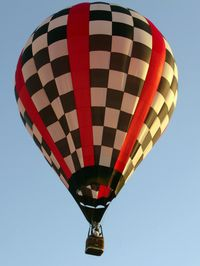 N105WB @ DTN - Red River Balloon Festival. - by paulp