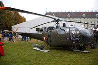 3E-KF - Austrian Air Force Alouette - by Chris J