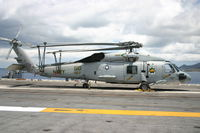 164610 - An SH-60F being run by the Dusty dogs on board the USS george washington