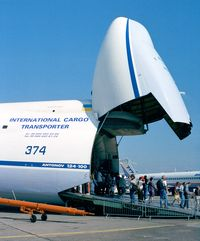 UR-82027 @ LFPB - Antonov An-124-100 Ruslan at the Aerosalon 1999, Paris