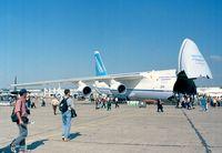 UR-82027 @ LFPB - Antonov An-124-100 Ruslan at the Aerosalon 1999, Paris