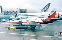 I-PATS @ LFPB - SIAI S.211A (Aermacchi) JPATS-Demonstrator at the Aerosalon 1999, Paris