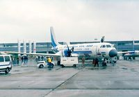 UK-91009 @ LFPB - Ilyushin Il-114-100 at the Aerosalon 1999, Paris