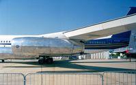 N717QS @ LFPB - Boeing 707-3J6B with stage III quiet engines at the Aerosalon 1999, Paris