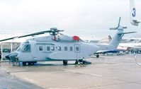 N592SA @ LFPB - Sikorsky S-92F at the Aerosalon 1999, Paris