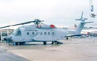 N592SA @ LFPB - Sikorsky S-92F at the Aerosalon 1999, Paris