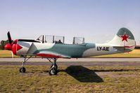 LY-AIE @ EGBR - Bacau YAK-52. At Breighton Airfield, North Yorks, UK. - by Malcolm Clarke