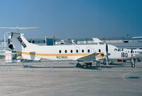 N23610 @ LFPB - Beechcraft 1900D of SONAIR at the Aerosalon 1999, Paris