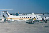N23610 @ LFPB - Beechcraft 1900D of SONAIR at the Aerosalon 1999, Paris
