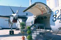 U-01 @ LFPB - Fokker 60UTA-N of the KLu at the Aerosalon 1999, Paris