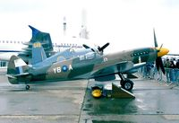 F-AZSJ @ LFPB - Supermarine Spitfire F Mk.XIV C at the Aerosalon 1999, Paris