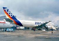 F-BUAD @ LFPB - Airbus A300B2-1C ZERO Gat the Aerosalon 1999, Paris
