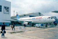 F-BTTD @ LFPB - Dassault Mercure 100 of Air Inter in front of the Musee de l'Air at the Aerosalon 1999, Paris