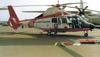 6569 @ EGVA - SA.365 DAUPHIN (HH-65) - US Coast Guard - by Noel Kearney