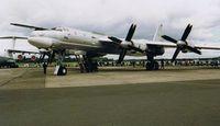 20 @ EGVA - Tupolev TU-95 Bear - Russian Air Force - by Noel Kearney