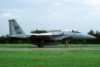 80-0015 @ EHLW - One of the numerous Bitburg Eagles that visited Leeuwarden in 1988. - by Joop de Groot