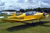 G-AZHC @ EGBP -  Jodel D.112 [585] Kemble~10/07/2004. Seen at the PFA Fly in 2004 Kemble UK. - by Ray Barber