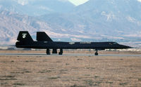 61-7955 @ KSBD - KSBD 1981 Norton AFB airshow what a great surprise to see this SR71 doing a flying display