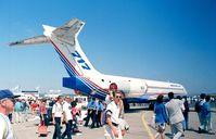 N717XE @ LFPB - Boeing 717-200 at the Aerosalon 1999, Paris