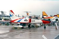 206 @ LFPB - Nanchang K-8 Karakorum (AVIC demonstrator) at the Aerosalon 1999, Paris