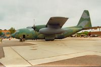 69-5826 @ MHZ - HC-130N Hercules of 67th Special Operations Squadron on display at the 1994 Mildenhall Air Fete. - by Peter Nicholson