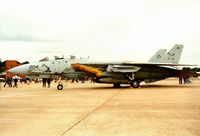 163215 @ MHZ - F-14B Tomcat of VF-103 at the 1994 Mildenhall Air Fete. - by Peter Nicholson