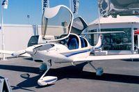 OE-VPC @ LFPB - Diamond (HOAC) DA-40 Diamond Star prototype at the Aerosalon 1999, Paris