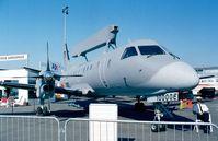 100006 @ LFPB - SAAB 340AEW Argus of the Flygvapen (Swedish Air Force) at the Aerosalon 1999, Paris