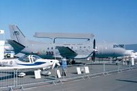 100006 @ LFPB - SAAB 340AEW Argus of the Flygvapen (Swedish Air Force) at the Aerosalon 1999, Paris - by Ingo Warnecke