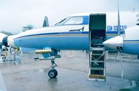 F-GMTO @ LFPB - Fairchild / Swearingen SA-225-AT meteorological aircraft at the Aerosalon 1989 Paris