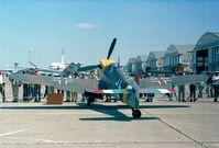 G-BOML @ LFPB - Hispano HA-1112 M1L at the Aerosalon 1999, Paris