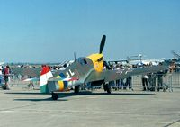 G-BOML @ LFPB - Hispano HA-1112 M1L Buchon at the Aerosalon 1999, Paris