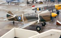 ZK-RMH @ LFPB - Curtiss P-40E Kittyhawk at the Aerosalon 1999, Paris